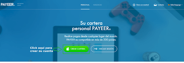 payeer registro