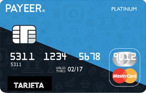 tarjeta payeer